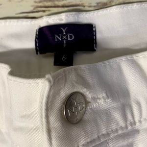 NYDJ Jeans - Not Your Daughters Jeans White Straight Leg Jeans